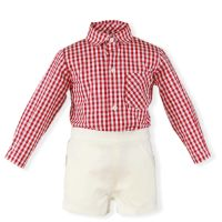 Boys Miranda Red and White Set 196