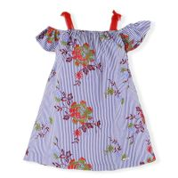 CLEARANCE PRICE Girls Miranda Blue and Red Dress 383 Available in 16 years
