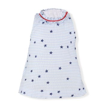 CLEARANCE PRICE Girls Miranda Red, White and Blue Dress 512 Available in 3m and 6m