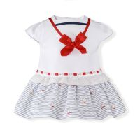 CLEARANCE PRICE Girls Miranda Sailor Dress 64 Available in 1m