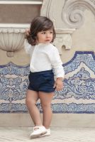 Boys Miranda Navy and Cream Set 143