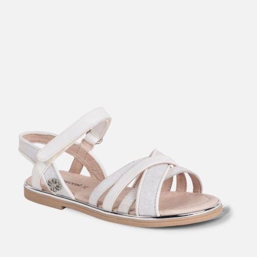 Girls Mayoral Mini Sandals 43039 - White