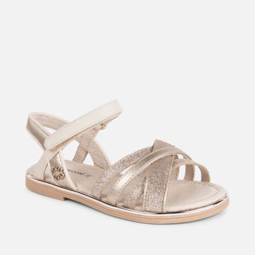 Girls Mayoral Mini Sandals 43039 - Champagne