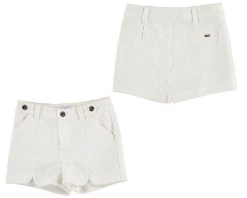 Girls Mayoral Mini Shorts 3213 - Persimmon