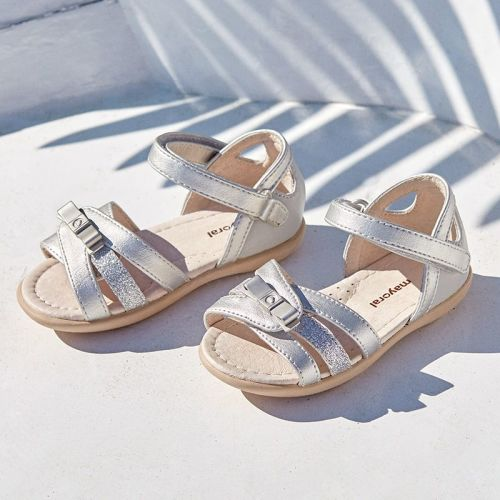 Girls Mayoral Sandals 41028 - Silver