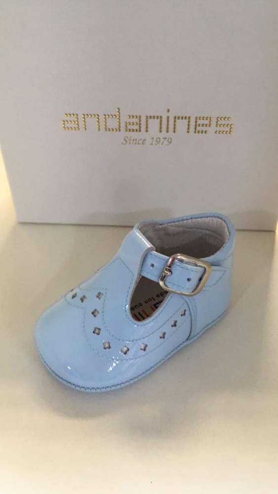 Boys Andanines Soft Sole Shoes - Blue