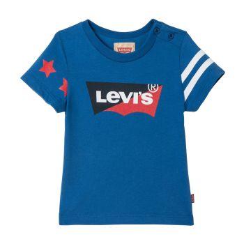 Boys Baby Levis T Shirt NN10024 - Blue