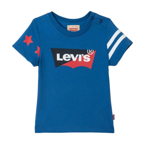 Boys Levis T Shirt NN10024 - White