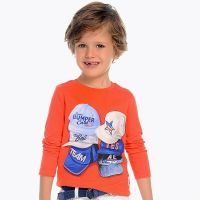 Boys Mayoral Mini Long Sleeved Top 3048 - Party - Available in 8 and 9 years