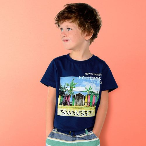 Boys Mayoral Mini T Shirt 3033