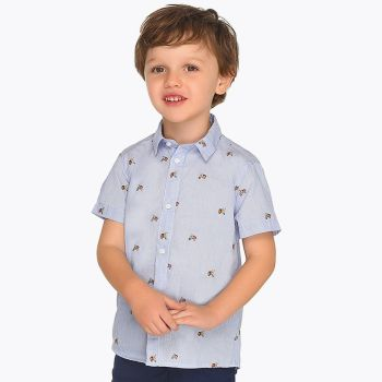Boys Mayoral Mini Shirt 3130 - Available in 7y, 8y and 9y