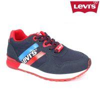 Boys Levis Footwear - Springfield Trainer DCL101 Blue
