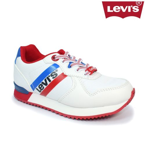 Boys Levis Footwear - Springfield Trainer DCL101 White
