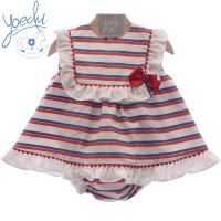 Girls Yoedu Red, White and Blue Dress and Pants 40