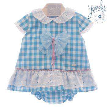 Girls Yoedu Turquoise Dress and Pants 62