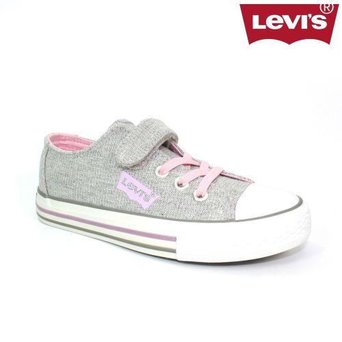 Girls Levis Footwear - Trucker DCL127 Silver