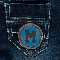 Boys Mitch and Son Sam Denim Jeans MS1212