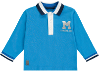 Boys Mitch and Son Payne Polo Top MS1234 - Brilliant Blue