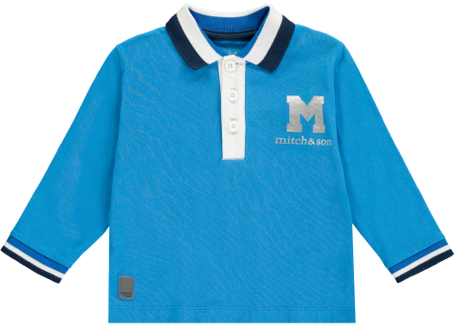 PRE ORDER AW19/20 Boys Mitch and Son Payne Polo Top MS1234 - Brilliant Blue
