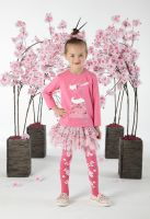 Girls A*Dee Japanese Blossom Collection Deone Dress W191702