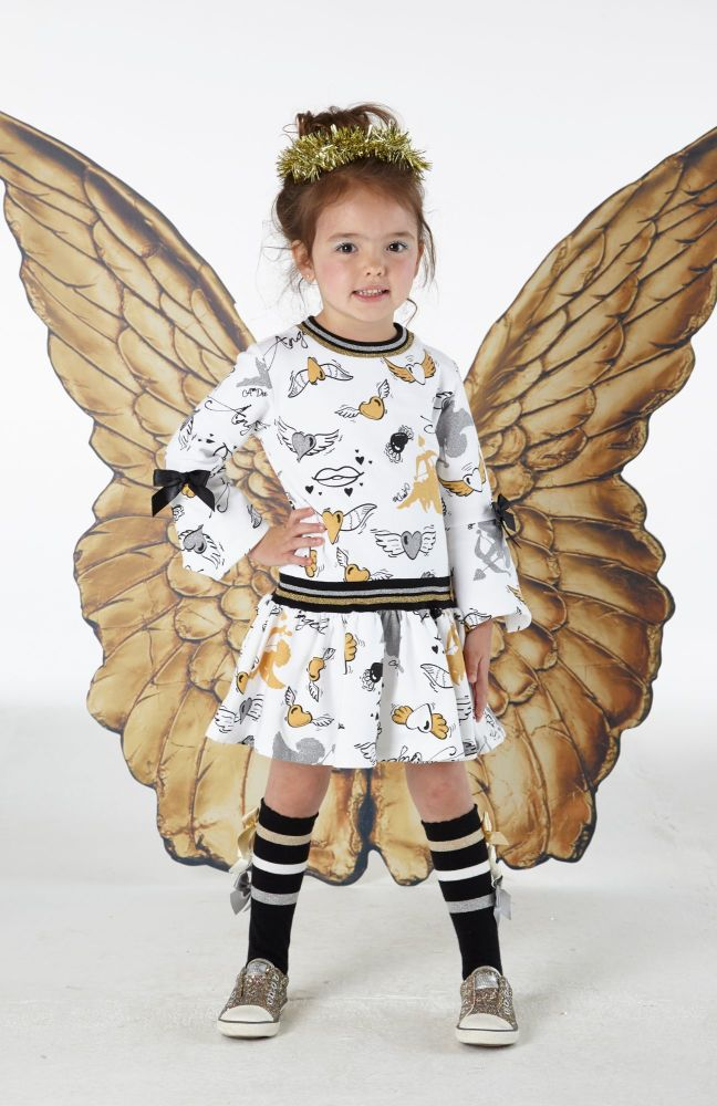 PRE ORDER AW19/20 Girls A*Dee Angels Collection Debbie Dress W192703