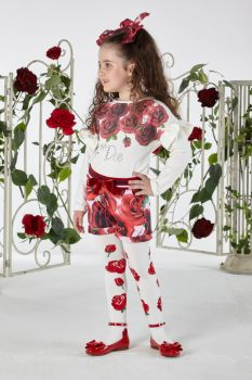 Girls A*Dee Royal Garden Collection Trinny Top W194407 available in 2 years