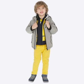 Boys Mayoral Regular Fit Trousers 41 - Yellow