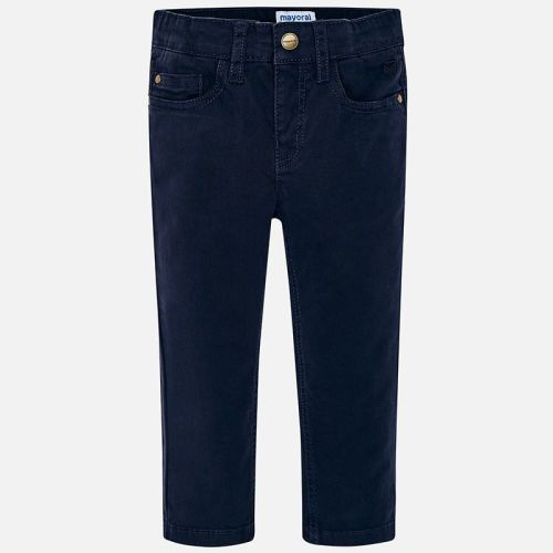 Boys Mayoral Regular Fit Trousers 41 - Navy