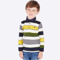 Boys Mayoral Long Sleeve Polo 4114