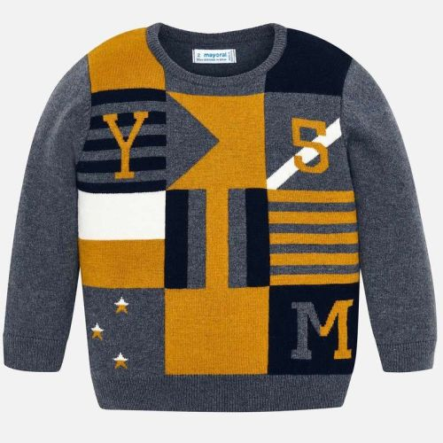 Boys Mayoral Sweater 4311 - Grey