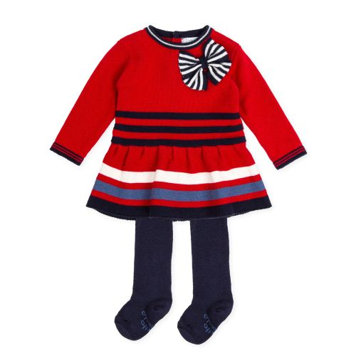 PRE ORDER AW19/20 Girls Tutto Piccolo Dress and Tights 7218