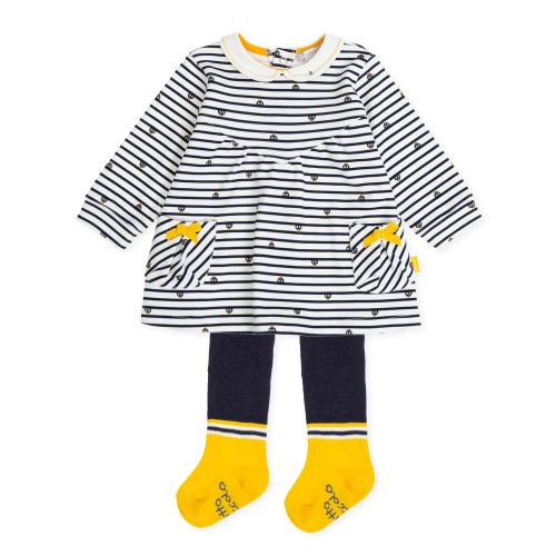 PRE ORDER AW19/20 Girls Tutto Piccolo Dress and Tights 7793