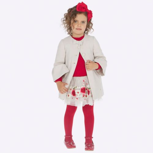 Girls Mayoral Skirt 4903 - Red