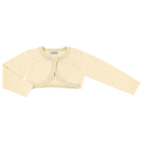 Girls Mayoral Cardigan 314 - Camel
