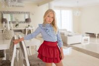 Girls Dolce Aela by Dolce Petit Skirt Set 3004 - Available upto 14 years