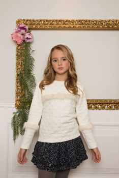 Girls Dolce Aela by Dolce Petit Skirt Set 3009 - Available in 6 Years Only