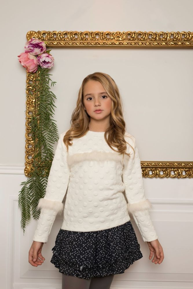 PRE ORDER AW19/20 Girls Dolce Aela by Dolce Petit Skirt Set 3009 - Availabl