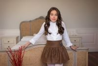 Girls Dolce Aela by Dolce Petit Skirt Set 3015 - Available in 10 Years Only