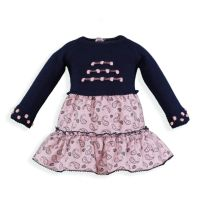 Girls Miranda Navy and Pink Dress 155 Available in 3m 6m and 30m