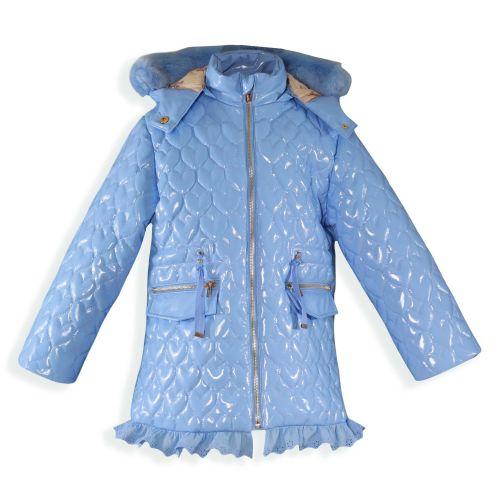 PRE ORDER AW19/20 Girls Miranda Coat 1402 - Blue