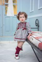 Girls Miranda Burgundy Dress 180