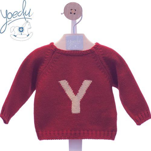 Boys Yoedu Red Sweater 9501