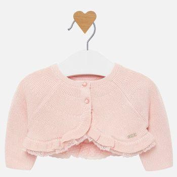 Girls Mayoral Cardigan 2303 - Pink