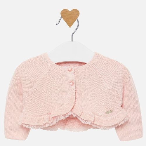 Girls Mayoral Cardigan 2303 - Pink