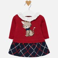 Girls Mayoral Dress 2834 Cherry 32