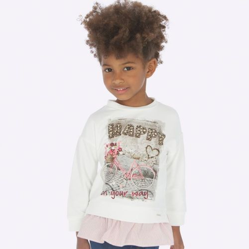 Girls Mayoral Long Sleeve Top 4403