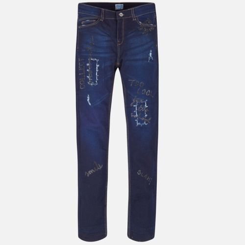 Girls Mayoral Jeans 7503