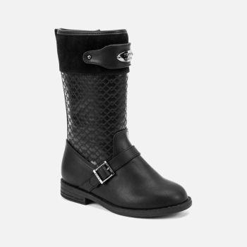 Girls Mayoral Boots 46041 Black
