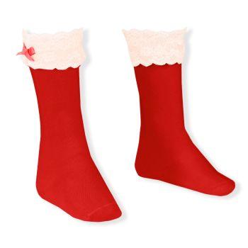 Girls Dolce Petit Socks - Red