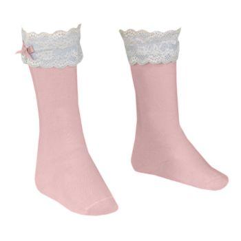Girls Dolce Petit Socks - Pink